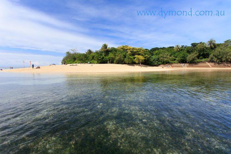 green island great barrier reef cairns queensland beach