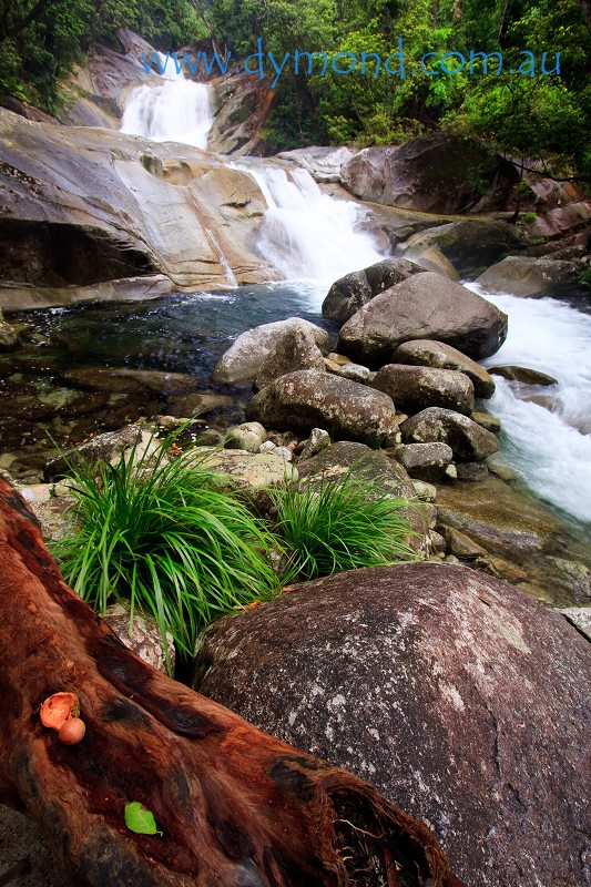 waterfall josephine falls cairns far north queensland