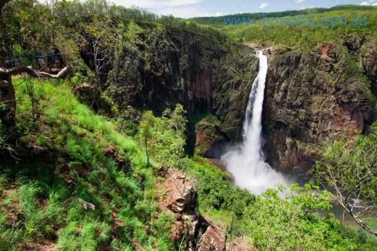 waterfall nature photography landscape wallaman falls cairns